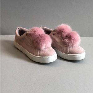 Pink Sam Edelman Pom Pom sneakers